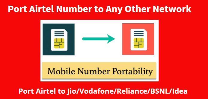 Port Airtel Mobile Number