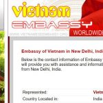 Vietnam Embassy in India Customer Care Number, Email Id