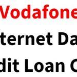 Vodafone Internet Data Credit Loan USSD Code (3G/4G Data)