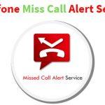 Vodafone Miss Call Alert Service Activate / Deactivate Process