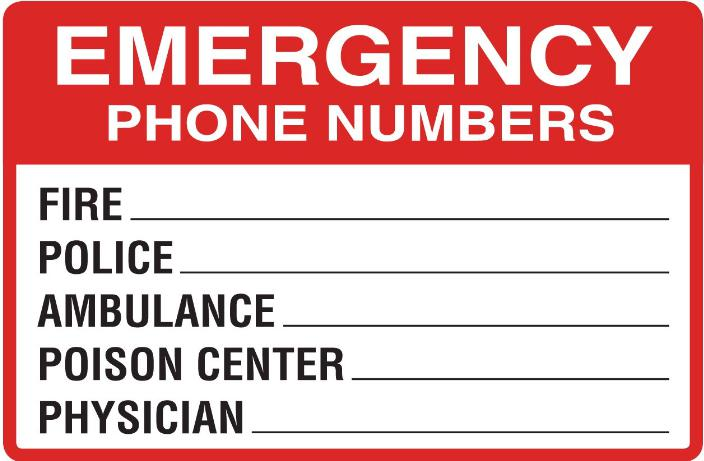 India Emergency Contact Numbers