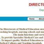Andhra Pradesh Medical Education Department Contact Address
