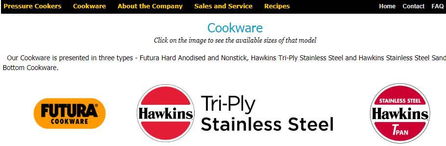 Hawkins Cookers