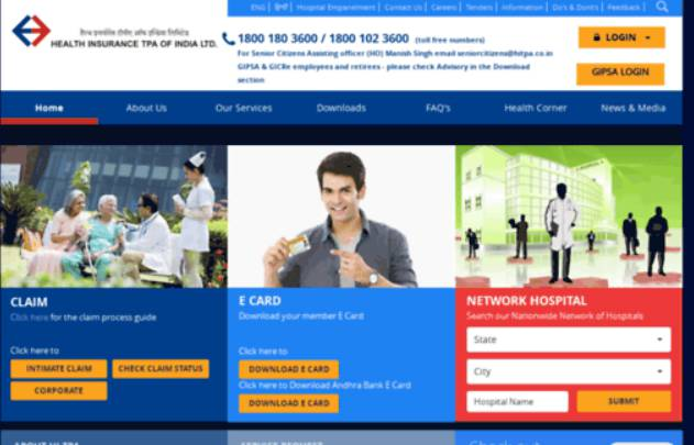 Health Insurance Tpa Of India Customer Care Number Contact Address