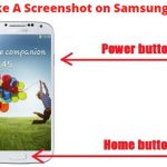 How to Take A Screenshot With Samsung Galaxy S4?
