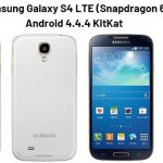 How to Update Samsung Galaxy S4 LTE (Snapdragon 600) with Android 4.4.4 KitKat?