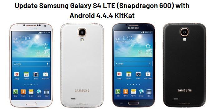 Update Samsung Galaxy S4 LTE