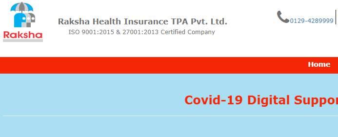 Raksha Health Insurance TPA