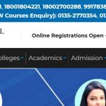 Uttaranchal University Contact Number, Office Address, Email Id