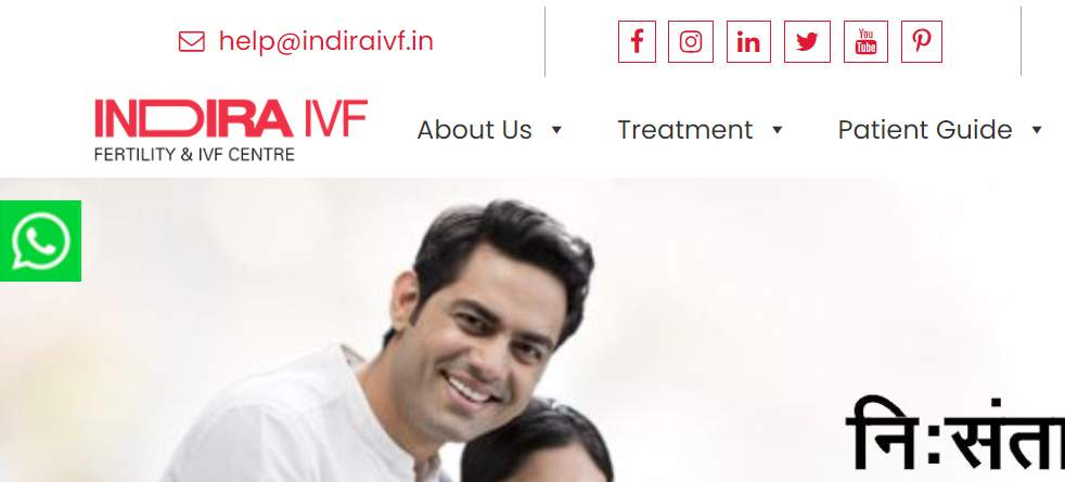 Indira IVF Customer Care