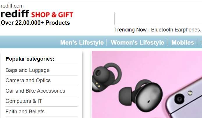 Rediff Shopping Customer Care
